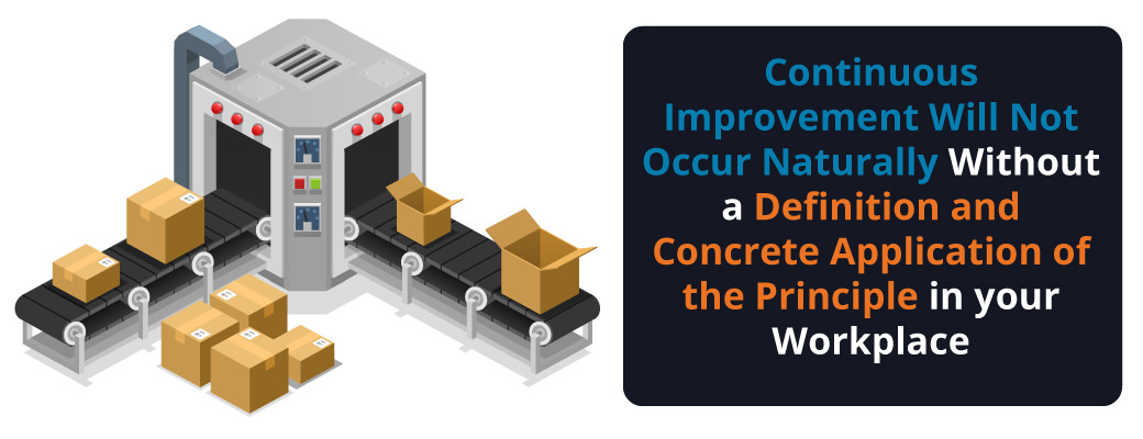 continuous improvement isn't natural