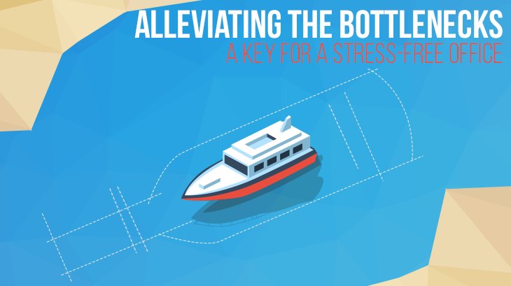 eliminate bottlenecks