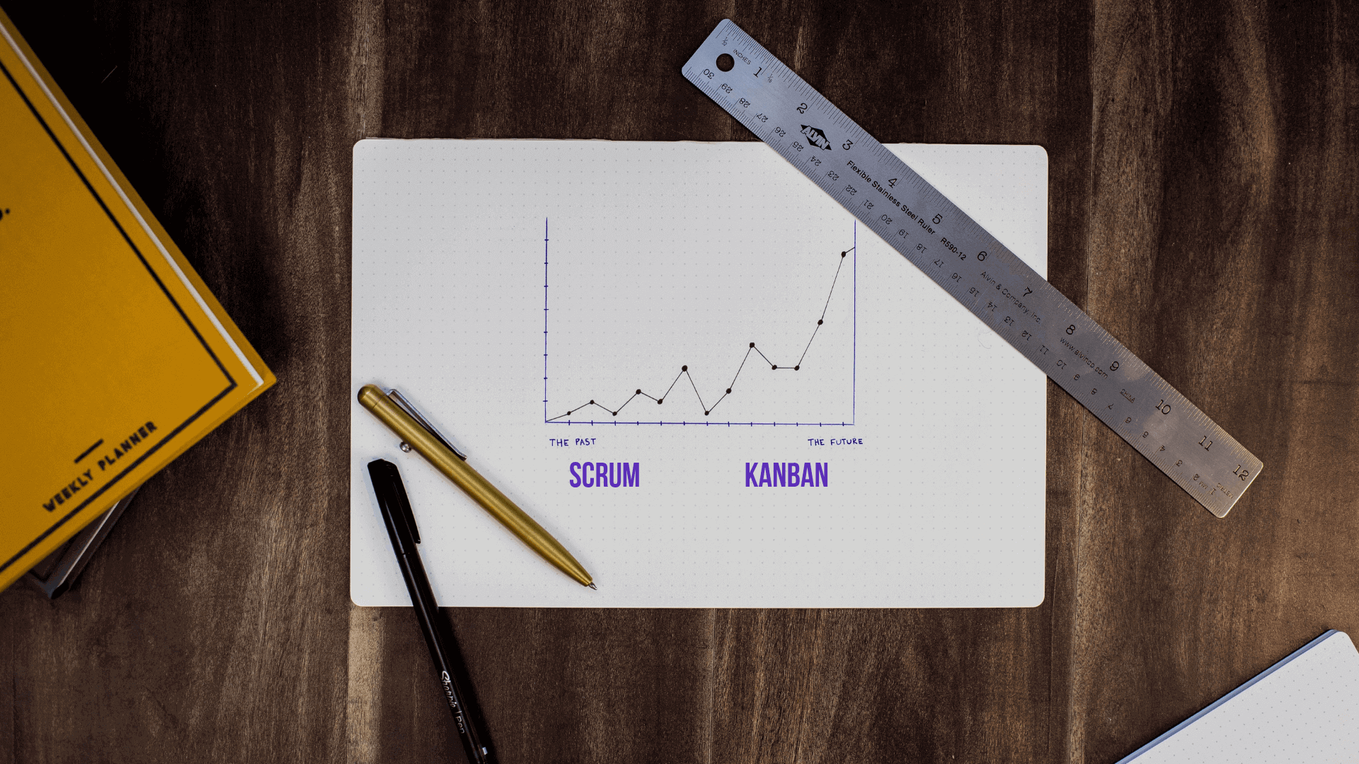 Scrum compares to Kanban as Sprints compare to Marathons. One is optimized for the short-term and the other for the long-term.