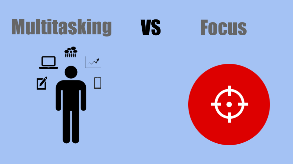 improve productivity with single-tasking