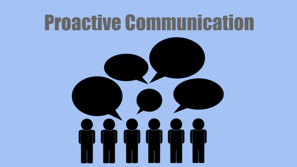 improve productivity with proactive communication