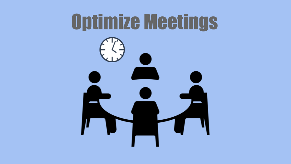 optimize meetings and improve productivity