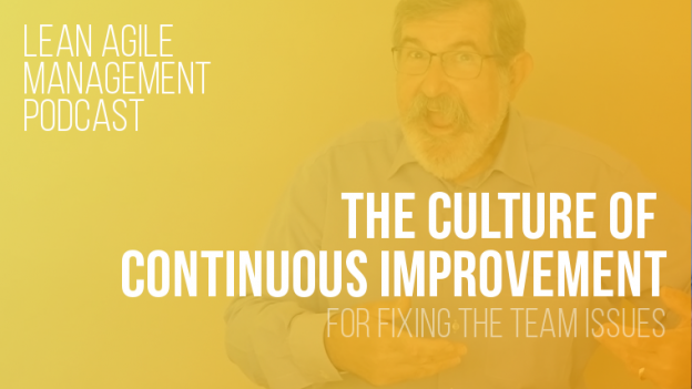 Lean Agile Management Podcast - Continuous Improvement Culture