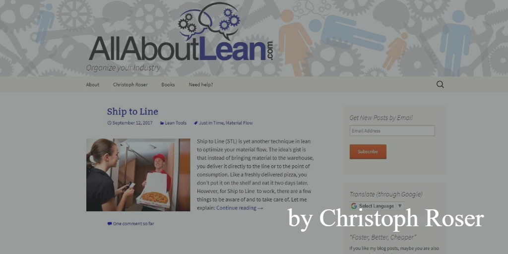 Lean blog - all about lean