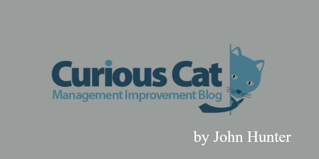 Lean blog- curious cat