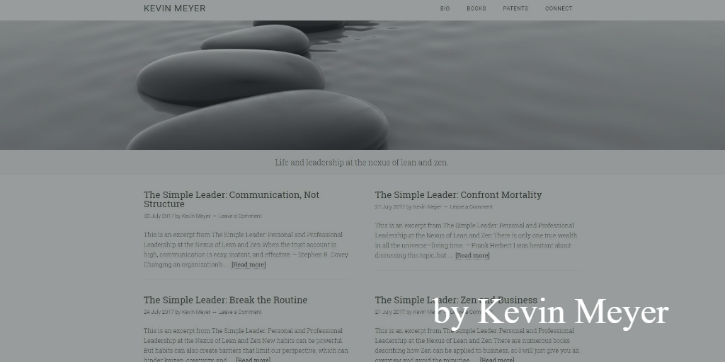 Lean blog - Kevinmeyer