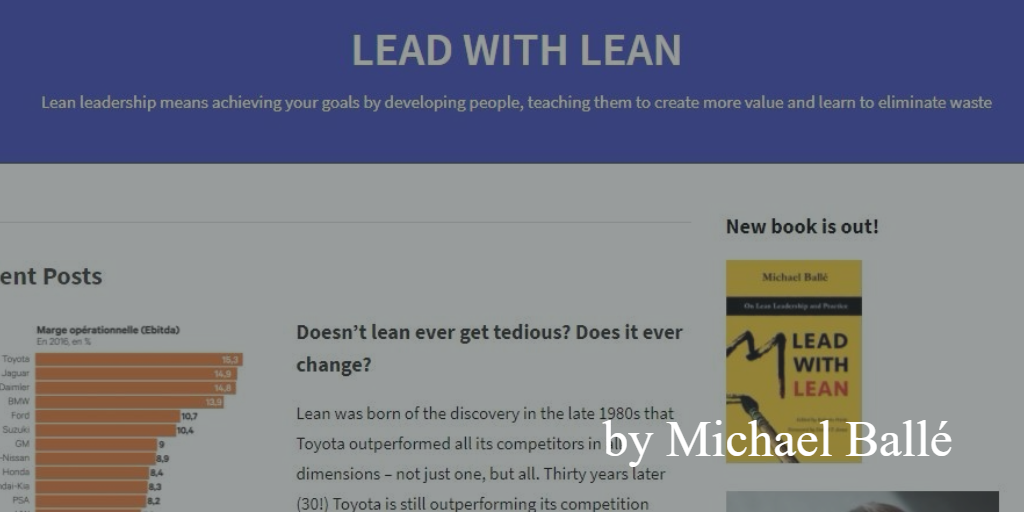Lean blog - Lead with Lean