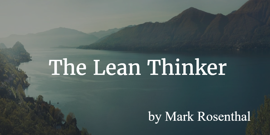 Lean blog - the Lean thinker
