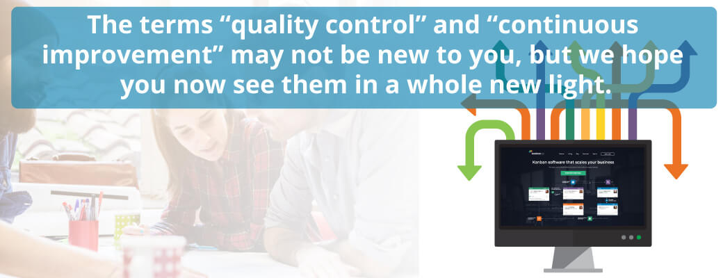 continuous improvement and quality control