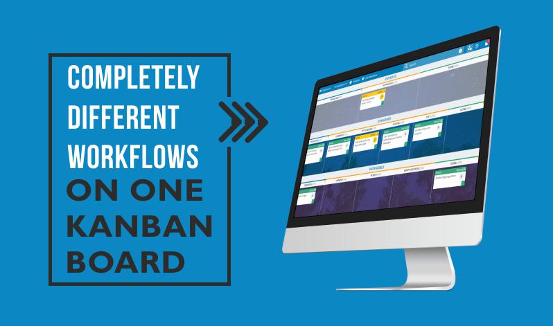 Multiple kanban workflows