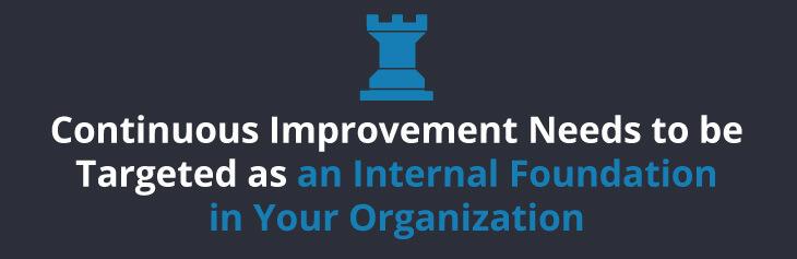 create an internal focus