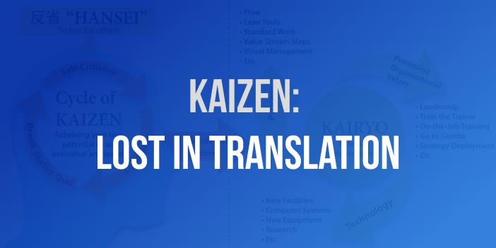 kaizen continuous improvement