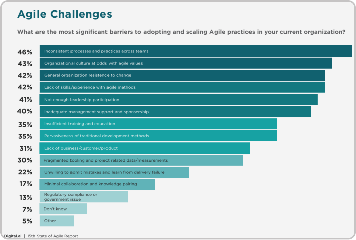 Why Agile Doesn't Work Agile Challenges