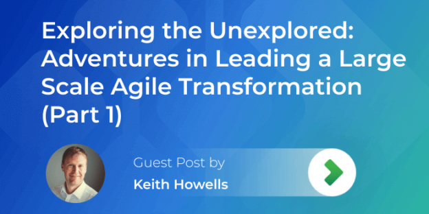 leading large scale agile transformation