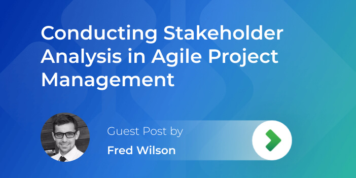 stakeholder analysis in agile project management