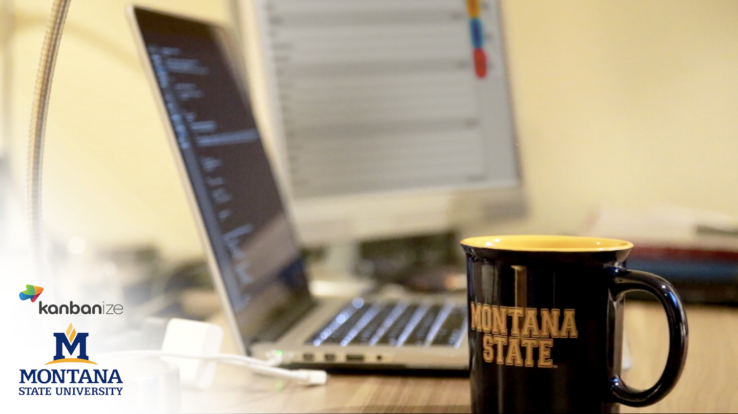 Kanban software at Montana State University