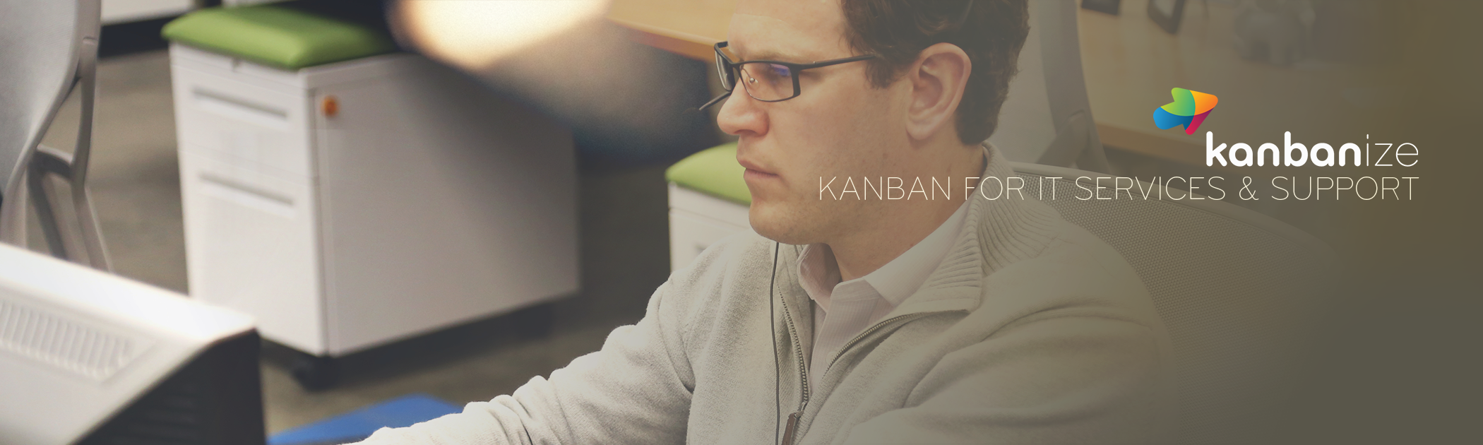 Kanban software for IT services
