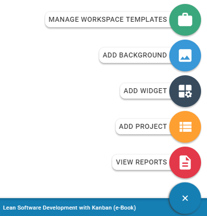 how to create a project kanbanize knowledge base