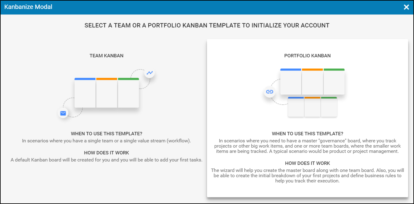 How to Create a Project? – Kanbanize Knowledge Base