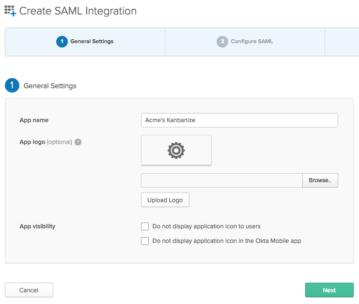 How to set up SAML Single-Оn with Okta? – Kanbanize