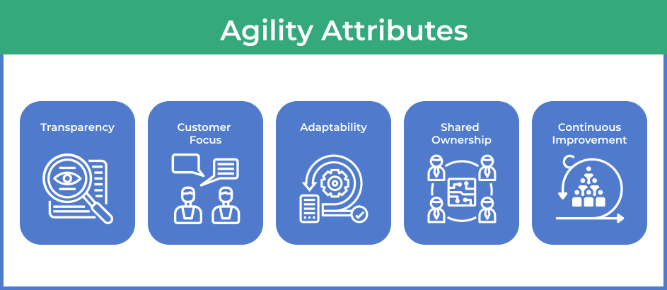 Agility attributes