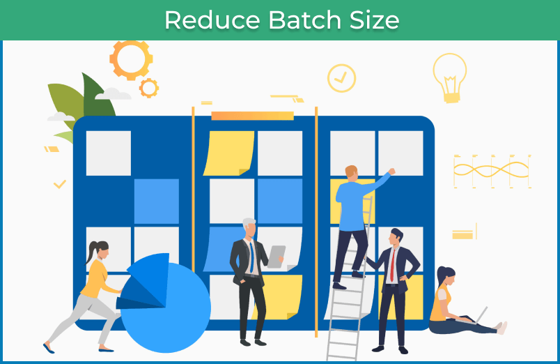 reduce batch size