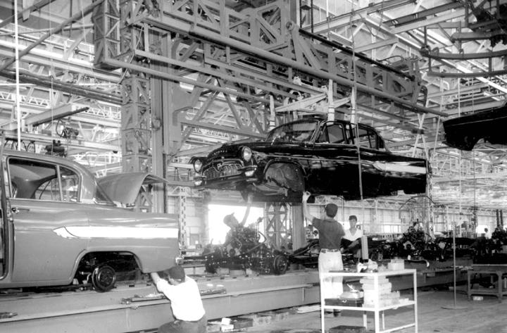 Toyota Montagelinie