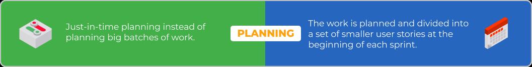 scrum vs kanban planning