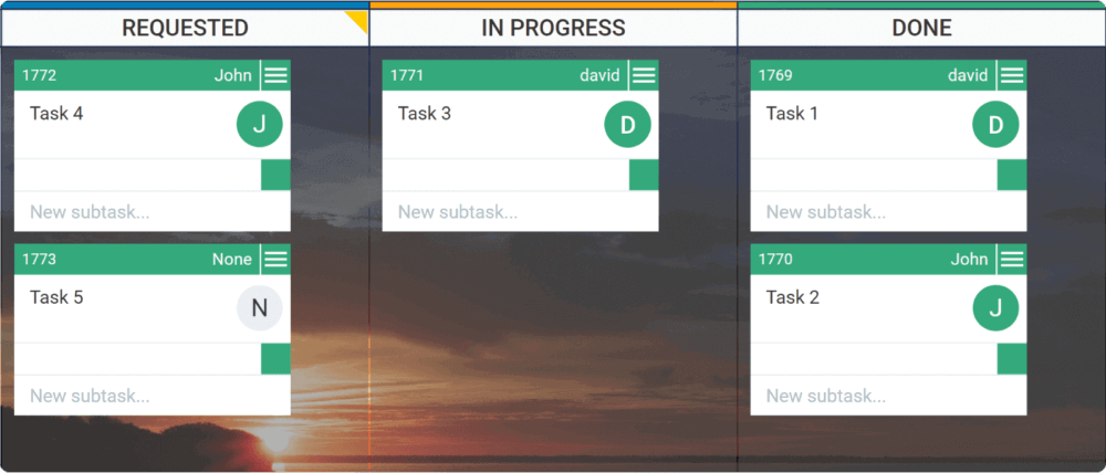 Value stream mapping with Kanban