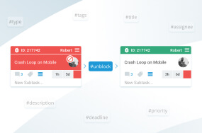 Edit card properties from Bitbucket