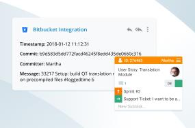 Kanbanize + Bitbucket